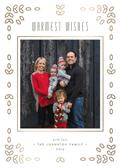 holiday photo cards - Geofrost by Ling Wang