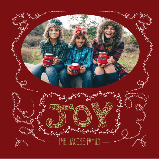 holiday photo cards - Holiday Joy by Amanda Zoss