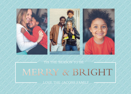 holiday photo cards - Merry And Bright Boxes by Amanda Zoss