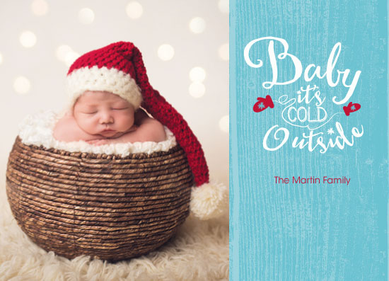 holiday photo cards - Cold Outside by Amanda Zoss