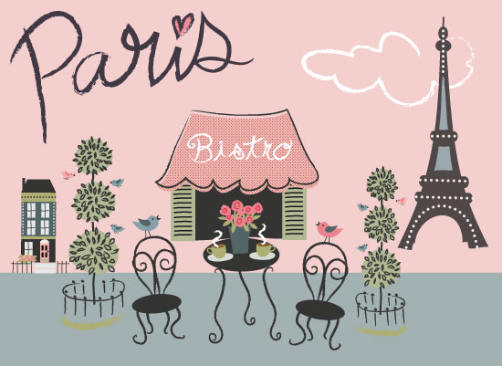 art prints - Oui Oui Paris by A Tina Beans