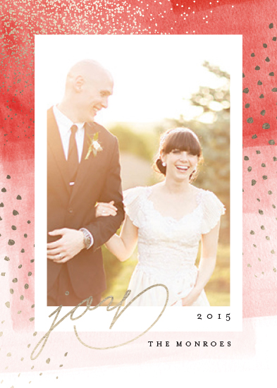 holiday photo cards - Sparkling Frame by Kristie Kern