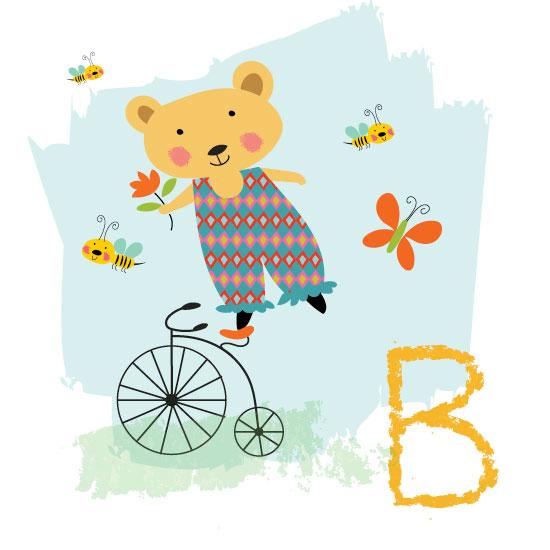 art prints - Baby B by A Tina Beans
