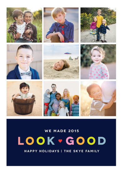 holiday photo cards - Looking Good 2015 by Kristen Smith