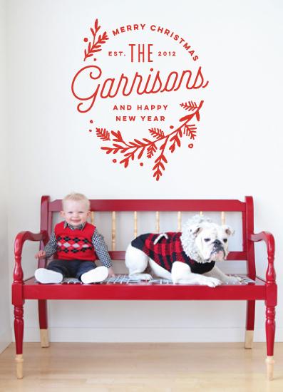 holiday photo cards - Embellished by Oscar & Emma