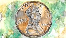 A Penny A Day by Olivia Steward