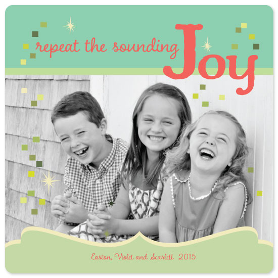 holiday photo cards - We Three Kids by Jane Snider