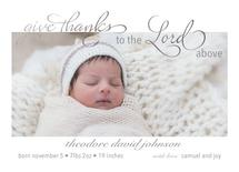 Give Thanks Birth Annou... by Madison Jai Smith