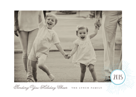 holiday photo cards - Holiday Burst by Gray Star Design