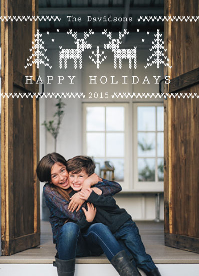 holiday photo cards - Simply Sweaterful by Rose Design