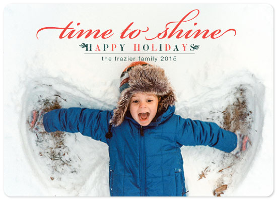 holiday photo cards - Holiday Shine by Jane Snider
