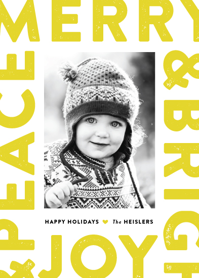 holiday photo cards - Boldly stated by Jennifer Wick