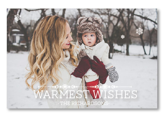 holiday photo cards - The Warmest Snow by Erricca DeGraffenreidt
