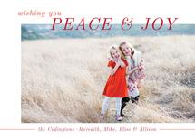Modern Peace and Joy by Green Fingerprint