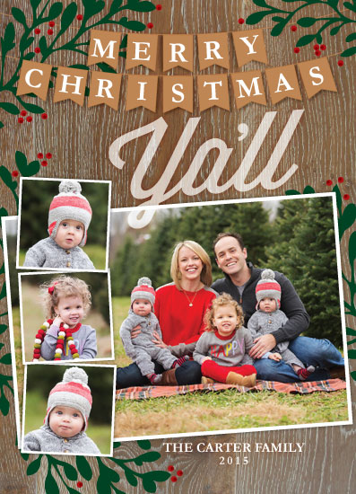 holiday photo cards - Southern Christmas by April Lammers