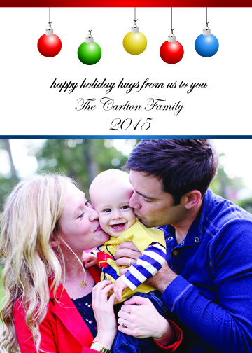 holiday photo cards - happy holiday hugs by Wendy Vandenbrock