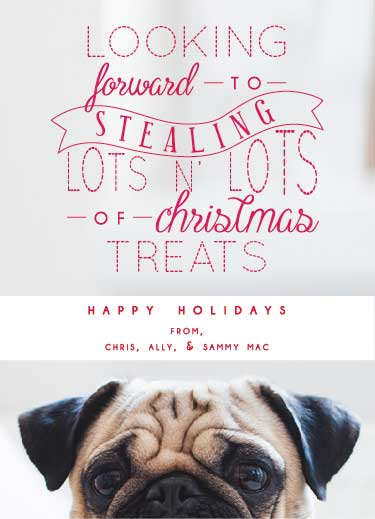 holiday photo cards - Christmas Treats by Ally MacWilliams