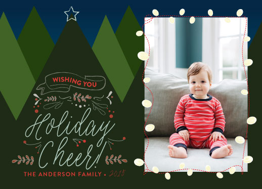 holiday photo cards - Cheers! by Elizabeth Bright
