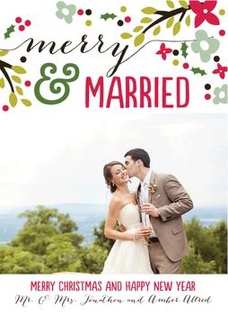 Floral Merry and Married