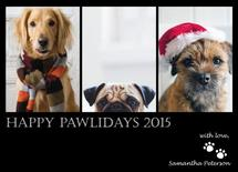 Happy Pawlidays by CL