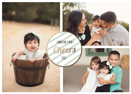 holiday photo cards - Family Cheers by Candice Andersen