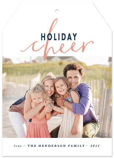 holiday photo cards - cheerful holidays by Qing Ji