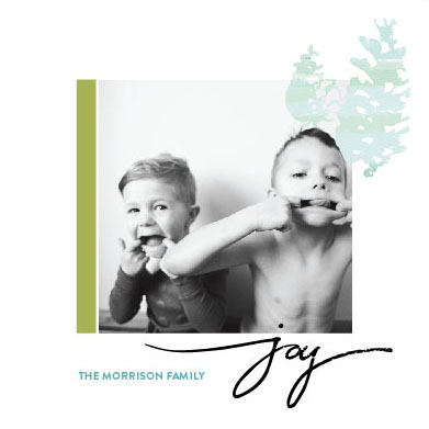 holiday photo cards - Wintery Joy by Khana Design