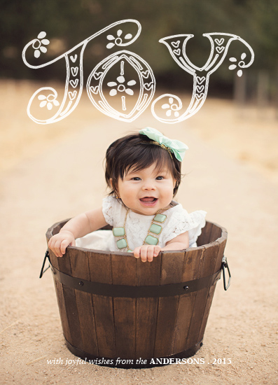 holiday photo cards - DecorativeJoy by Roopali