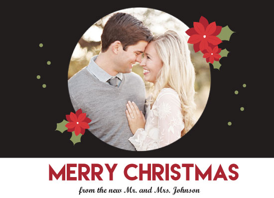 holiday photo cards - Mr. and Mrs. Poinsettia by Candice Andersen
