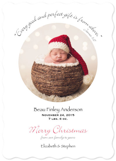 holiday photo cards - Gift From Above by Sue Minor