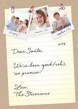Note for Santa by carohug