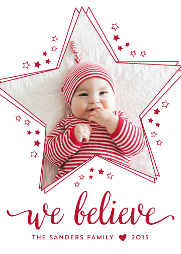 holiday photo cards - Starstruck by Melissa Casey