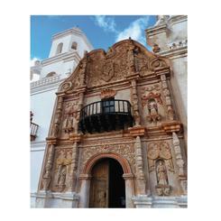 Spanish Mission Entrance