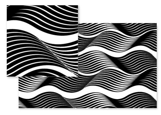 fabric - Waves by ryana