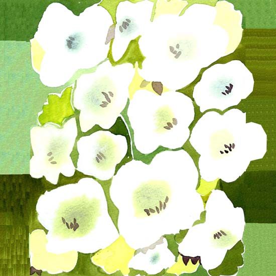 art prints - green garden by Tae Lee