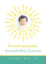 Newest Ray of Sunshine by Katie Tandlmayer