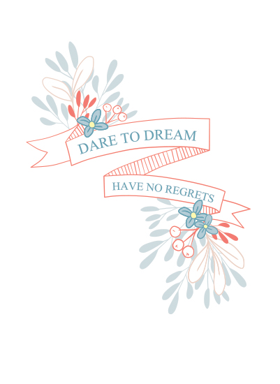 art prints - Dare to Dream by Bianca Stanton