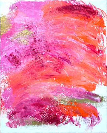 art prints - sorbet swoosh by Jenny Sanchez