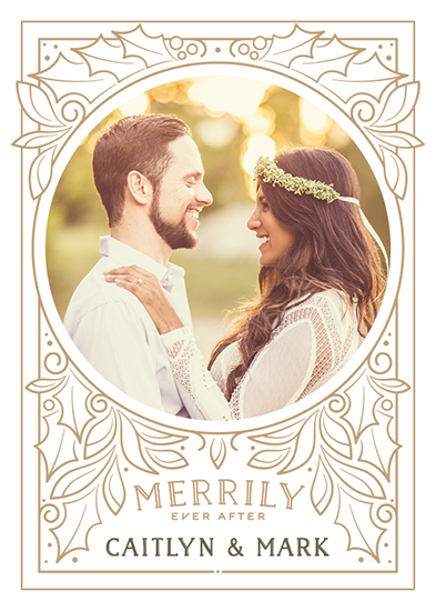 holiday photo cards - Ever After by GeekInk Design