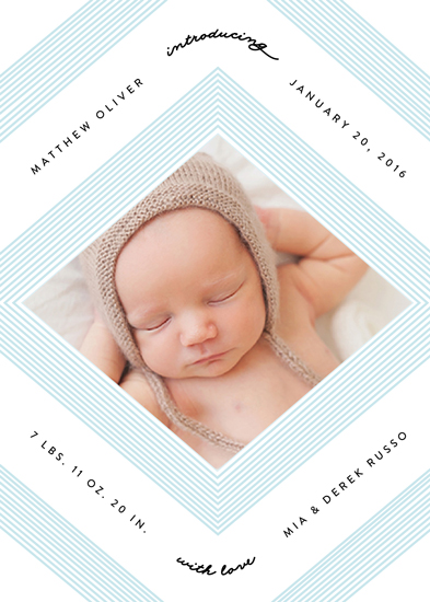 holiday photo cards - Geo Chic by Erica Krystek