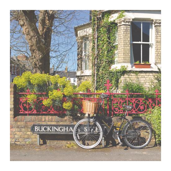 art prints - Buckingham Street by Julie Darrell