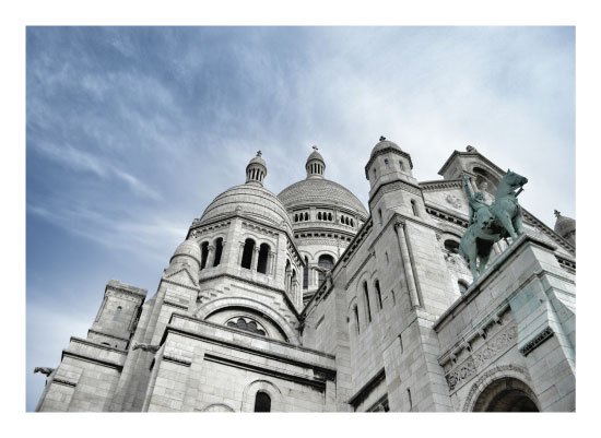 art prints - Sacre Coeur 1 of 2 by Julie Darrell
