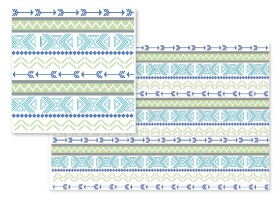 fabric - Modern Tribal by Ashlee Bordes
