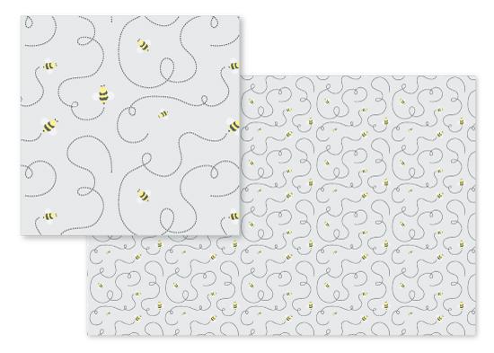 fabric - Bumble by Rachel Milaschewski