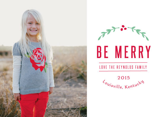 holiday photo cards - Merry State by Jane Snider