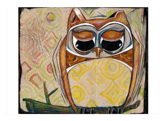 art prints - Owl I Know by Amy Wicherski