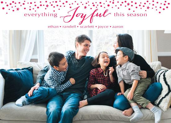 holiday photo cards - joyful Season by Jane Snider