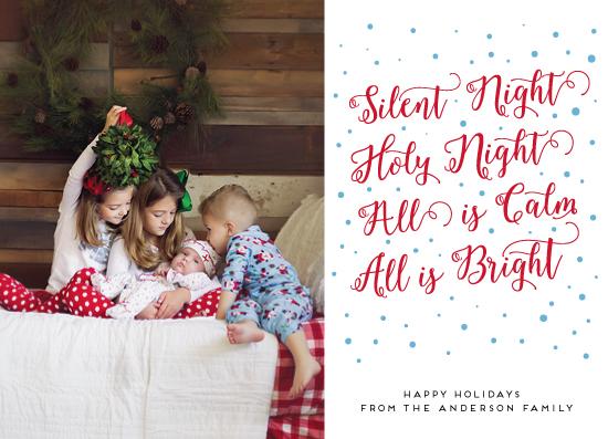 holiday photo cards - Carol by Alexandra Dzh