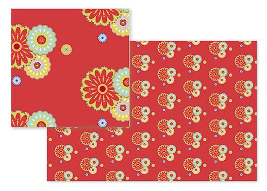 fabric - flower power by Neeti Kapadia
