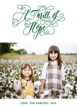 A Thrill of Hope by hatley
